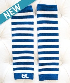 Leggvarmer Baby Leggings - Blue Stripe