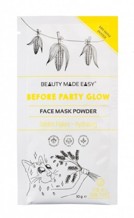 BEAUTY MADE EASY Before Party Glow Face Mask Powder 10 g