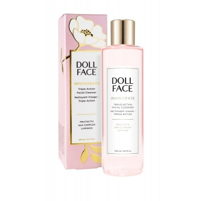 Doll Face - Invigorate Triple-Action Facial Cleanser
