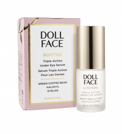 Doll Face - Soothe Undereye Puffiness Serum