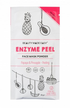 BEAUTY MADE EASY Enzyme Peel Face Mask Powder 10 g